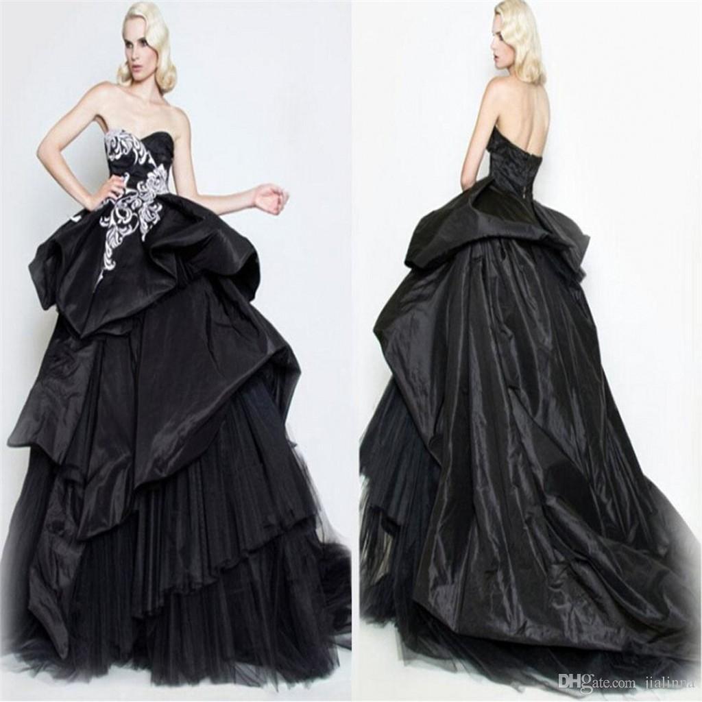 Flattering plus size of i do wedding inspiration for Plus size gothic wedding dress