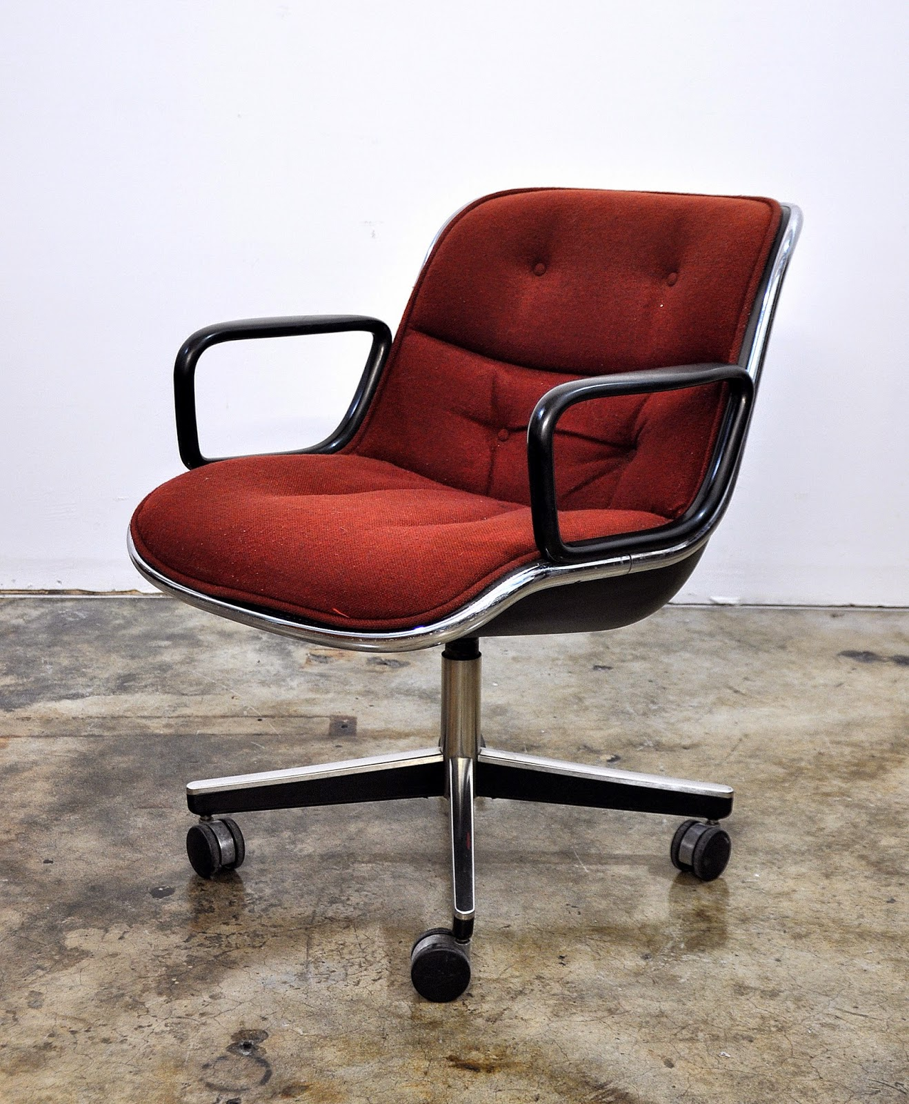 Charles Pollock Chair Select Modern Charles Pollock For Knoll Executive Chair