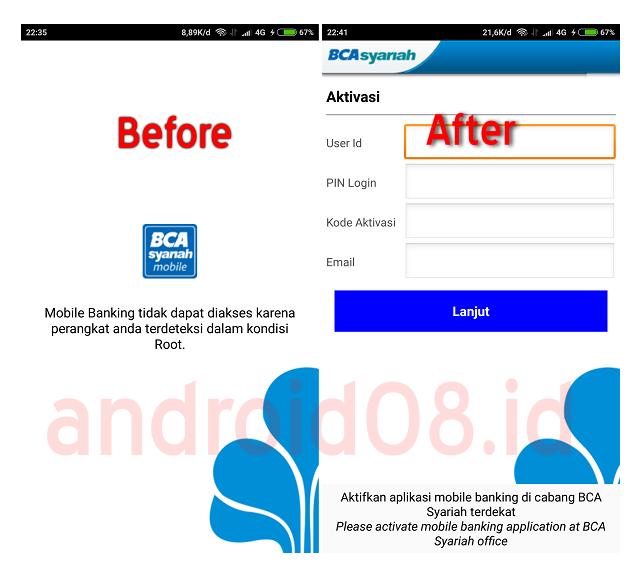 Download Bca Syariah Mobile Banking Root V1 34 Apk Update 31 Agustus 2020 Andro Id
