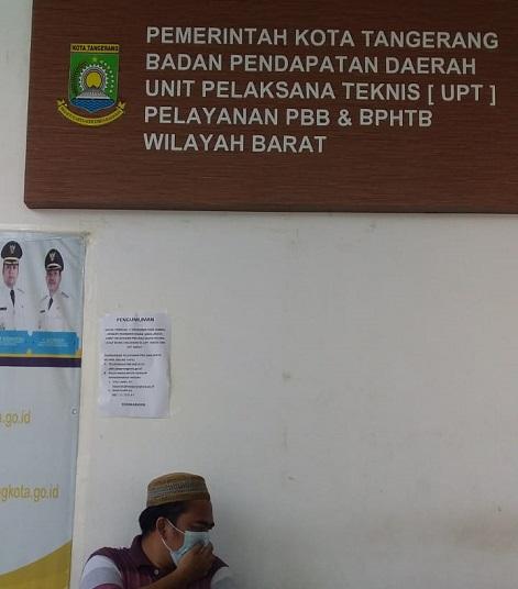 Ada Covid-19, Kantor Pelayanan Terpadu Kota Tangerang Bergeser Ke Wilayah