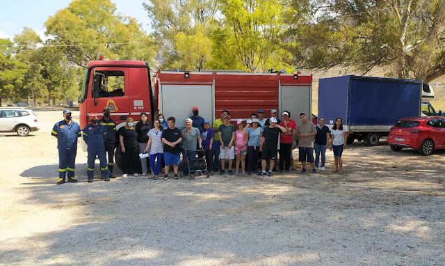 Μια ξεχωριστή μέρα χάρισαν πυροσβέστες του Ναυπλίου στον Σύλλογο ΑΜΕΑ Αργολίδας