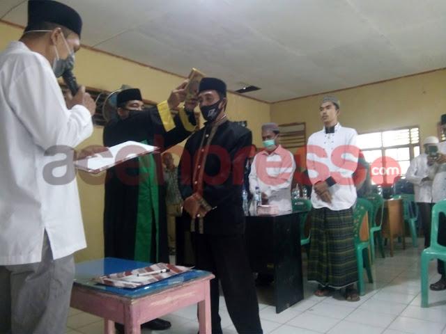 Resmi Di Lantik, Maimun Menjabat Imum Mukim Mutiara Timur Periode 2021-2026