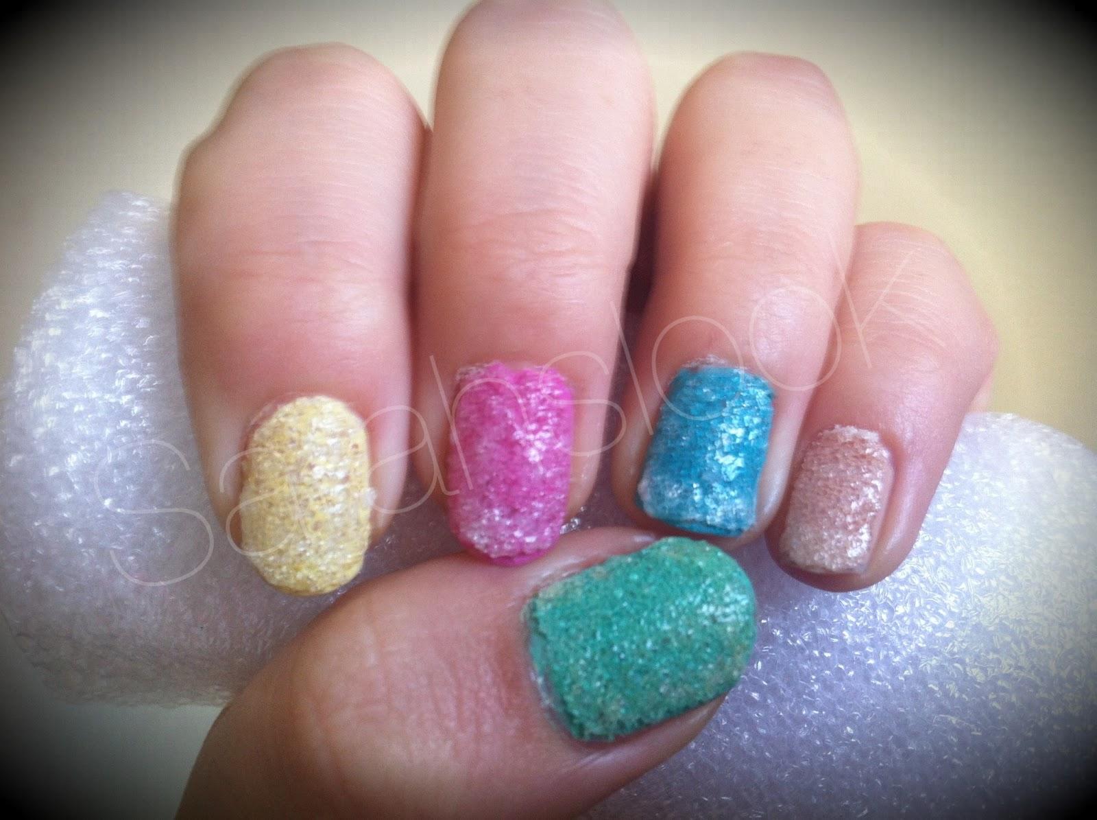 Sarahslook Uñas De Azúcar Sugar Nails