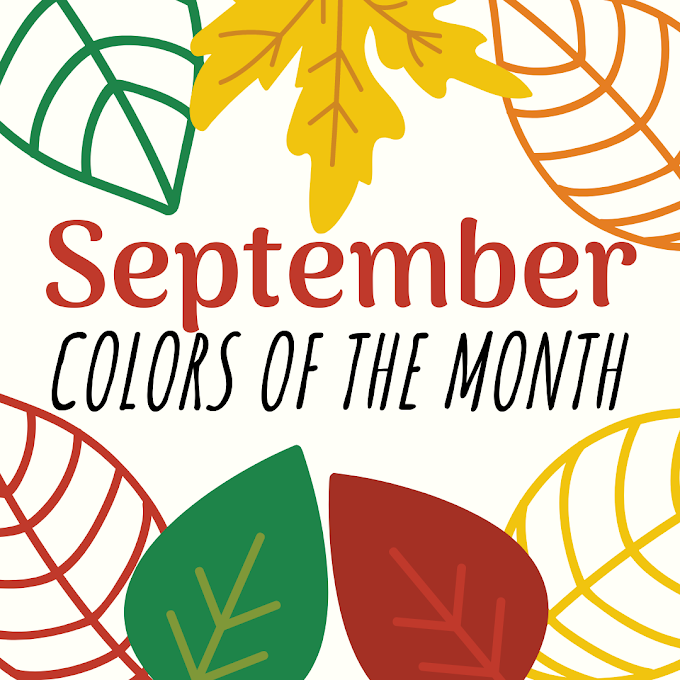 NRC Design Studio's Colors of the Month - September