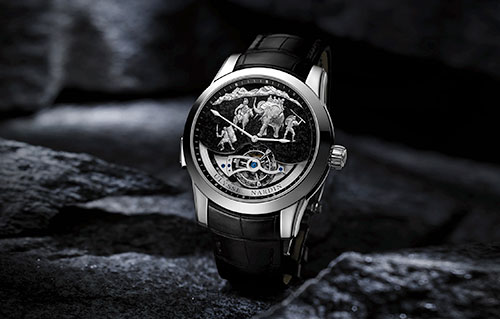 Ulysse Nardin Hannibal Minute Repeater Tourbillon – Rp 8,8 Milyar