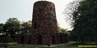 Chor Minar at Hauz Khash
