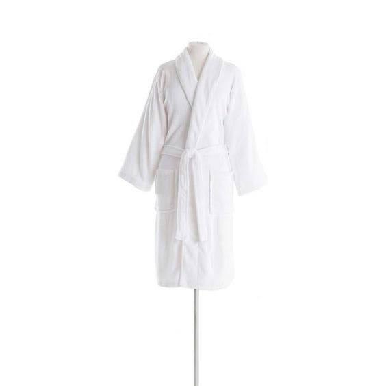 Sheepy Fleece White Shortie Robe | The Outlet