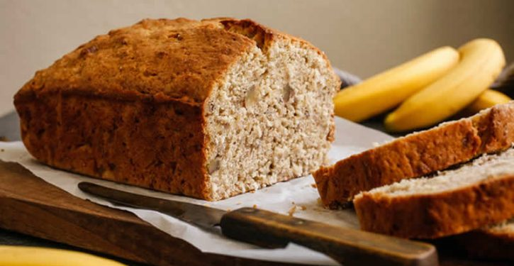This Sweet Banana Cake Is Without Sugar Or Oil. Healthy And Delicious