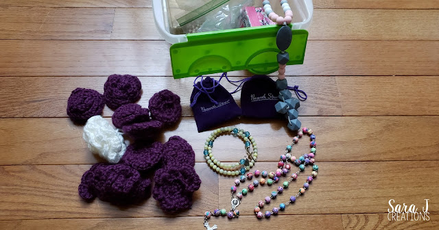 Rosary box for kids
