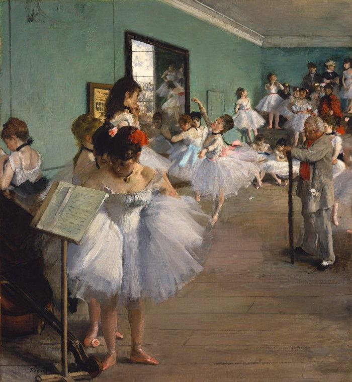 Танцевальный класс, Эдгар Дега