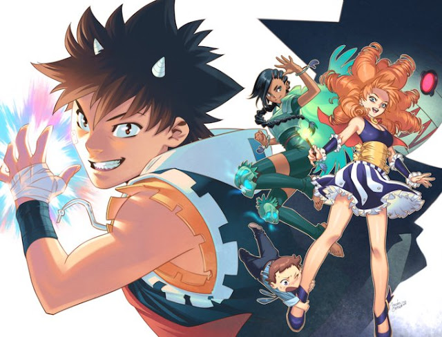 Manga: Mostrada la portada de Radiant por Belén Ortega