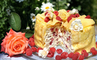 Блинные торты и пироги. Рецепты, идеи, советы.