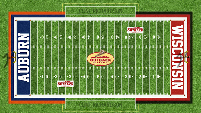 auburn football outback bowl field 2015