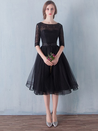 http://uk.millybridal.org/product/black-a-line-scoop-neck-lace-tulle-sashes-ribbons-knee-length-1-2-sleeve-simple-prom-dresses-ukm020102872-19290.html?utm_source=post&utm_medium=1634&utm_campaign=blog