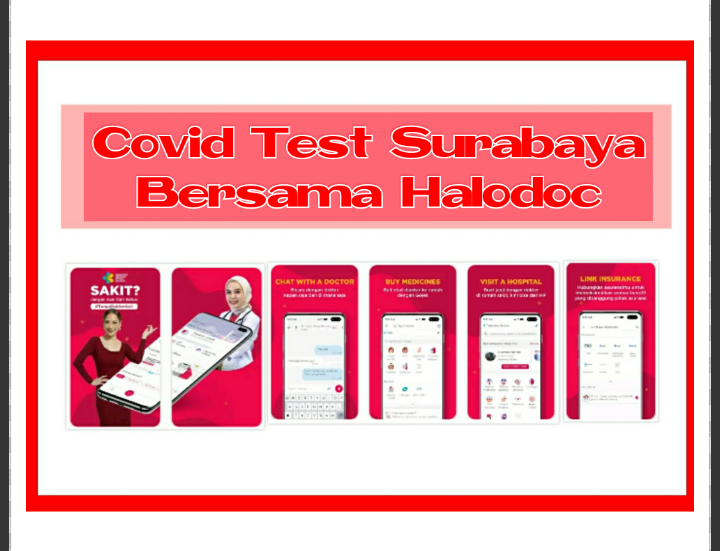 Review Halodoc, Apkikasi Halodoc, review aplikasi halodoc, rapid test Surabaya