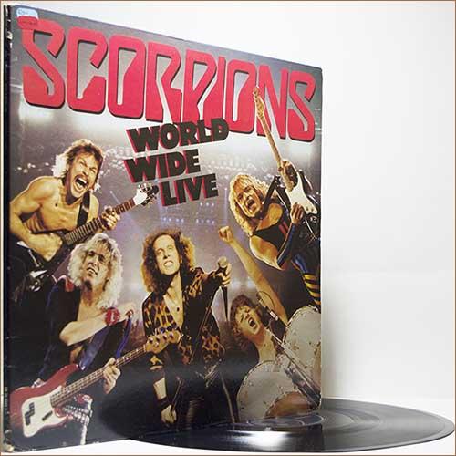Oldnewrockmusic Scorpions World Wide Live 1985 Vinyl