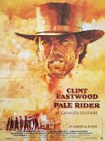 affiche française de PALE RIDER de Clint Eastwood, french poster
