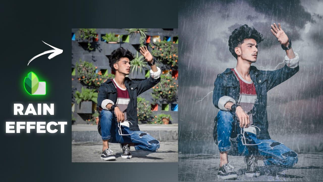 Snapseed Rain Photo Editing