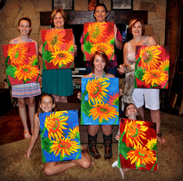 Painting Party Bridal Shower