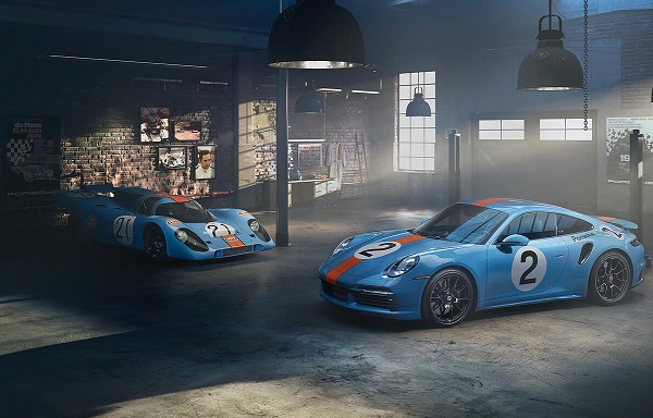 Porsche 911 Turbo S Gulf