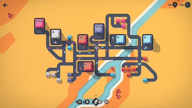 تحميل لعبة Mini Motorways الكمبيوتر مجانا