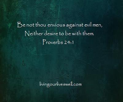 Proverbs 24:1