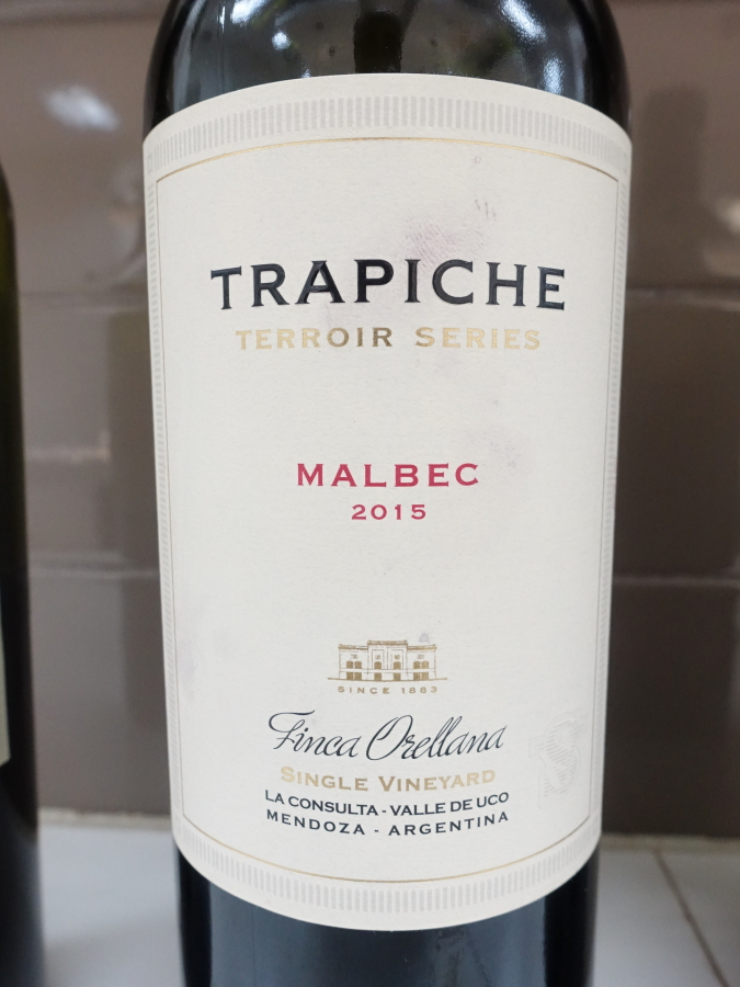 Trapiche Terroir Series Finca Orellana Single Vineyard Malbec 2015 (91+ pts)