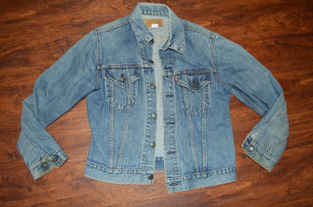 Mens Vintage Levi's Denim Jean Jacket  ~ Sz 40   70506 0217 ~ Made in USA