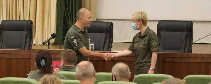 Заступник Головнокомандувача ЗСУ представив командувачку Медсил