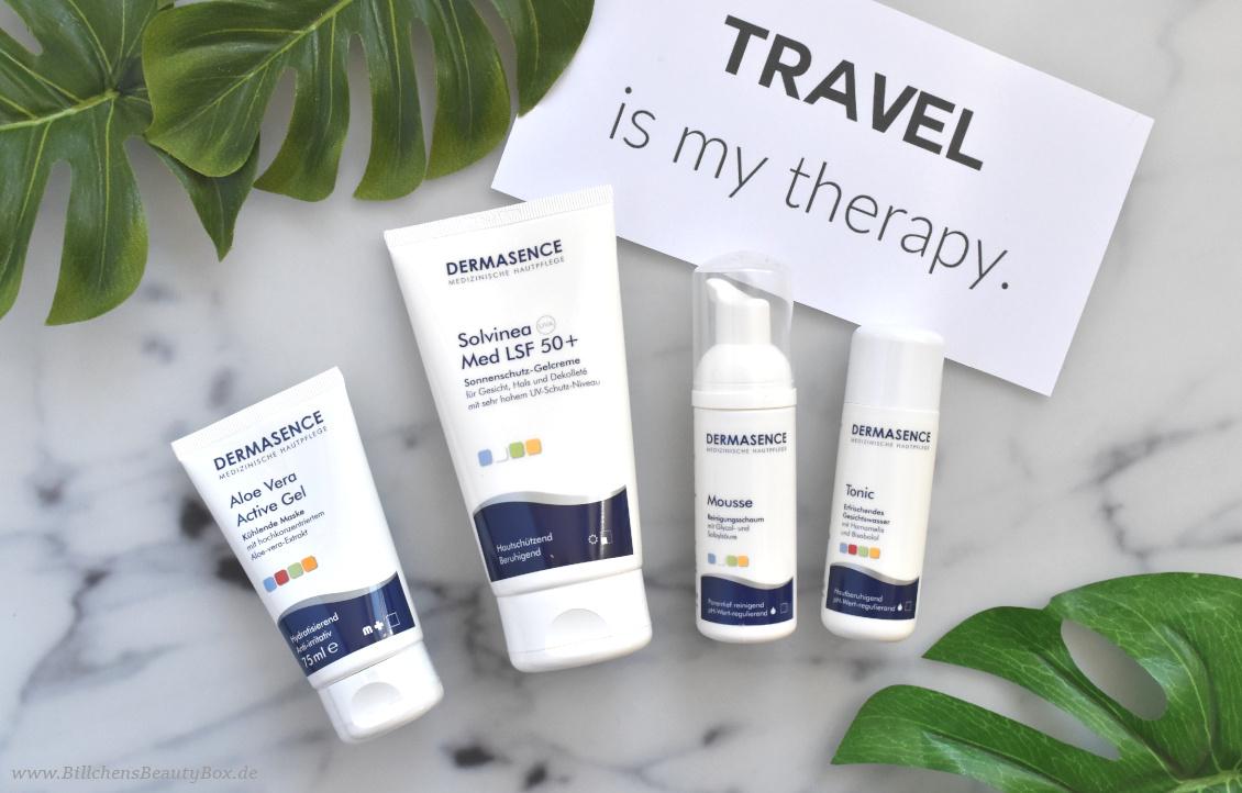 Reise Essentials & Must Haves - Sonnenschutz und Reiseset von Dermasence