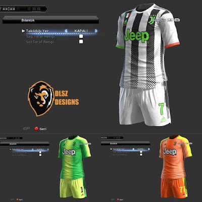 PES2013 Juventus 4th and 19/20 Full Kits By AbdDlsz