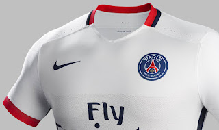 Detail Jersey PSG away terbaru musim depan 2015/2016 Official