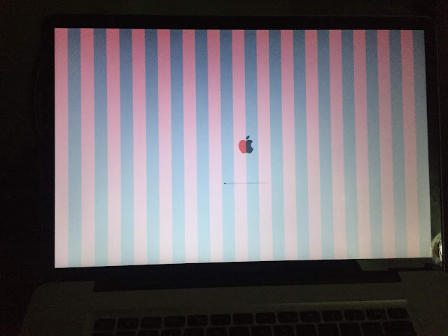 Supratim Sanyal: Fix Macbook Pro Color Bars or White Screen or Grey Screen