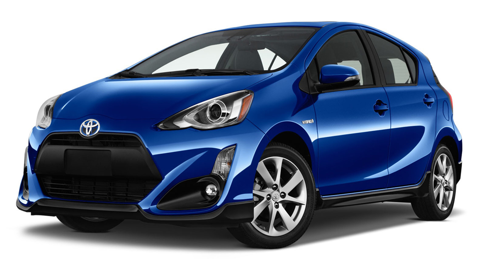 hybrid 2017 toyota prius c hatchback gets fresh styling. Black Bedroom Furniture Sets. Home Design Ideas