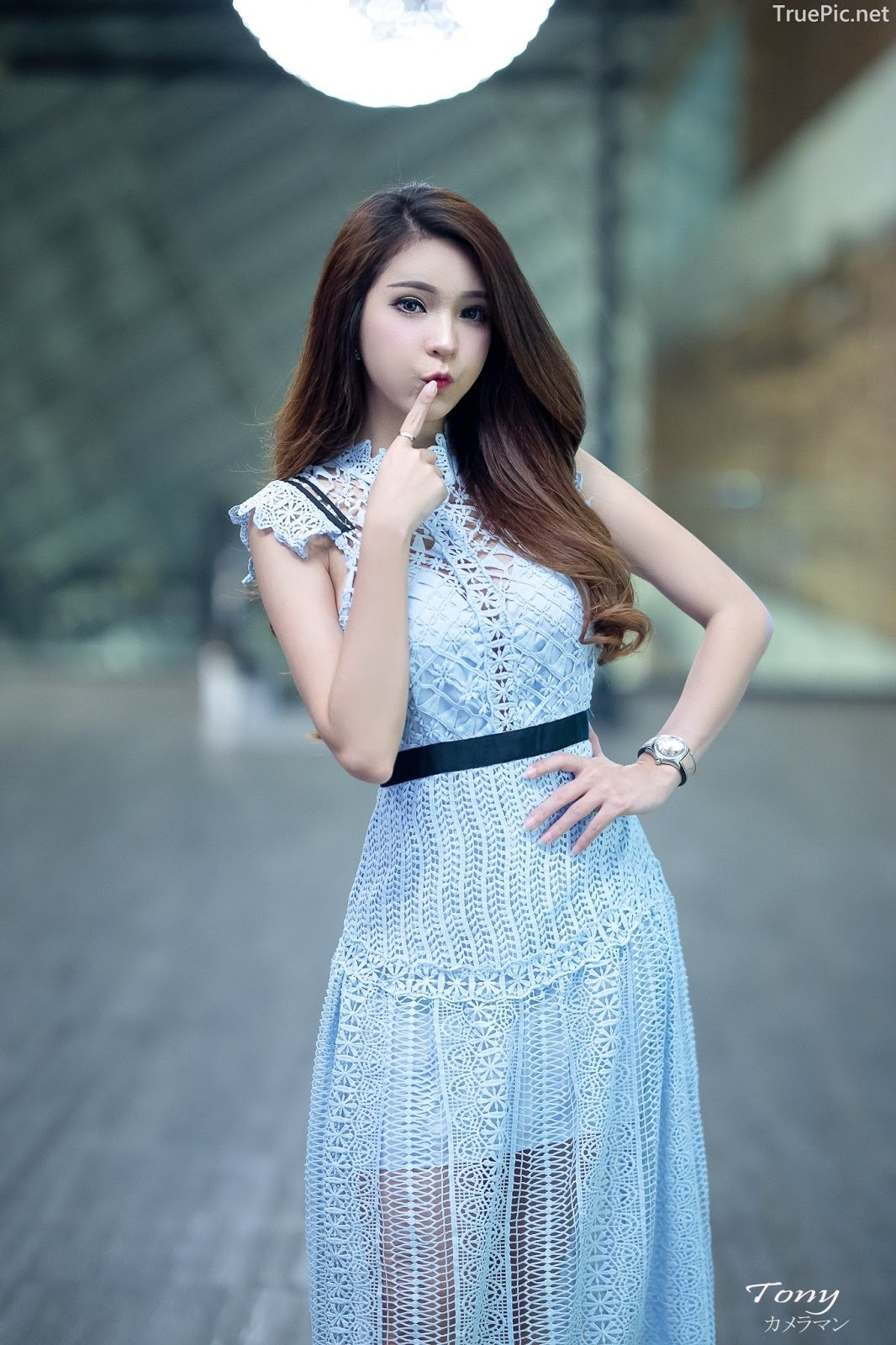 Thailand hot model – Janet Kanokwan Saesim – Sexy vs Cute and Bra vs Long Dress - Picture 4