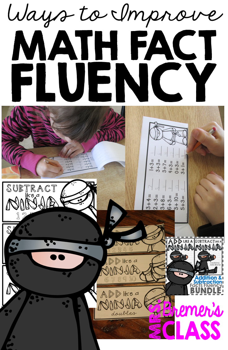 worksheet Math Fluency mrs bremers class building math fact fluency improve addition and subtraction each time a booklet is mastered finished