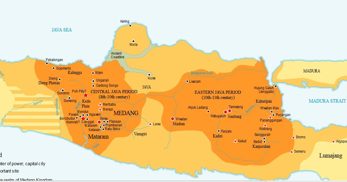 Kerajaan Mataram Kuno Priode Jawa Tengah | Kumpulan Makalahku