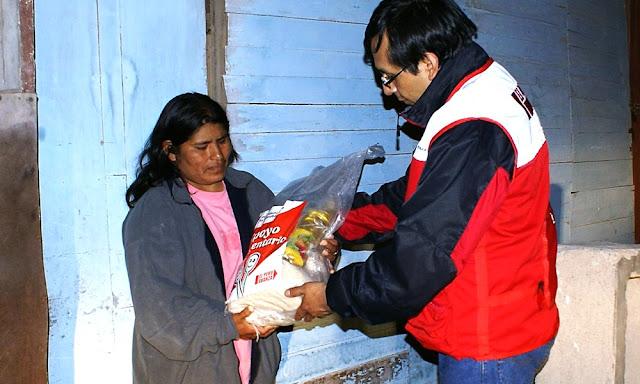 Municipios que distribuirán víveres a las familias vulnerables