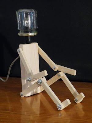 أفكار إبداعية جميلة لصناعة مصابيح جد رائعة