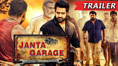 Janta Garage 2017 Hindi Dubbed WEBRip 480p 400Mb