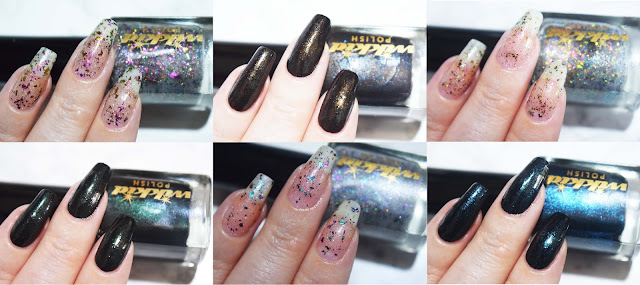 Wikkid Polish Gothic Collection Swatches
