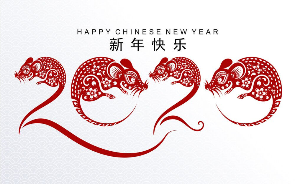Happy Chinese New Year The Rat