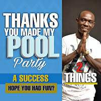 Entertainment Entrepreneur , Popularly know as 2things Pampered friends and family to a pool party as he marked his birthday in grand style.
