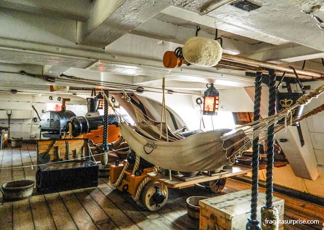 HMS Victory, navio do Almirante Nelson na Batalha de Trafalgar