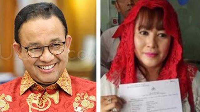 Dewi Tanjung Doakan Rizieq Shihab hingga Anies Baswedan Kena Azab