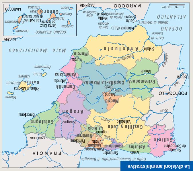 Leon Spagna Cartina.Oh Mio Tio La Cartina Della Spagna Come L Hanno Appesa Nella Redazione Di Tio 20 Minuti Perchedierrorinoncenesono