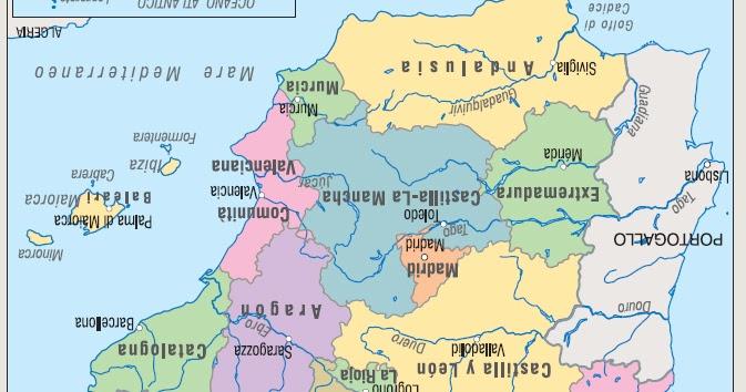 Cartina Catalogna.Oh Mio Tio La Cartina Della Spagna Come L Hanno Appesa Nella Redazione Di Tio 20 Minuti Perchedierrorinoncenesono