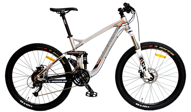 SEPEDA WIM CYCLE ADRENALINE AGENT TR [1.0 - 2.0 - 3.0] AD