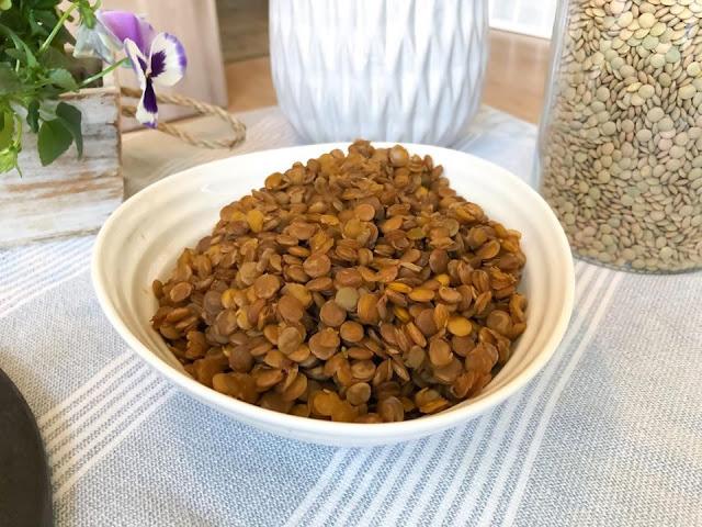 Balsamic Lentils