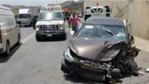 إصابة شخص فى حادث تصادم بين سيارة ملاكي وعربه كارو بسوهاج